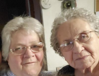 Karla Hinton and her mother Bernice