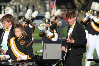 EBF marching band at Urbandale