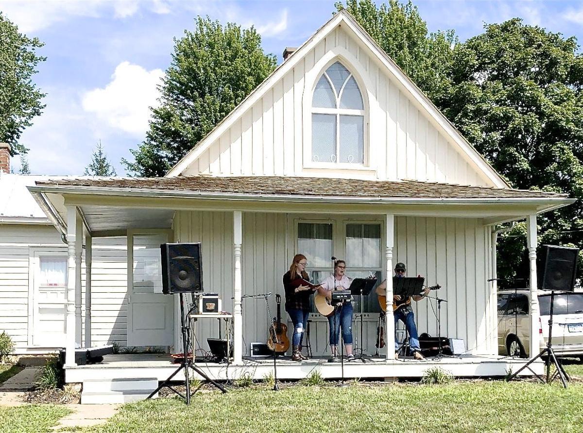 American Gothic House Porch Fest