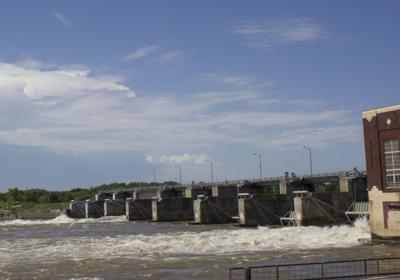 Des Moines River in Ottumwa, file photo.