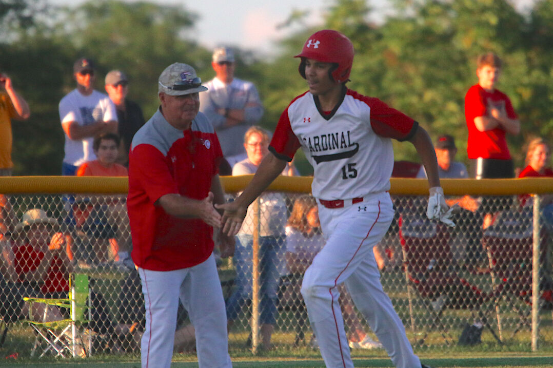 Comets close out baseball season in substate finals (2-4 column photo)