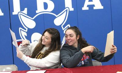 Beard, Lawrence signs national letters of intent