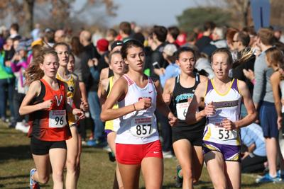 OHS girls cross-country team had strong front-runners