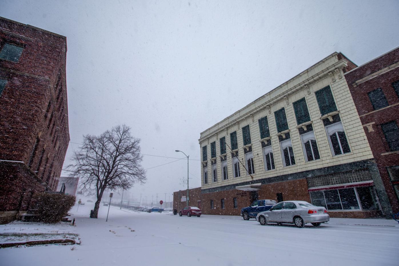 Snowfall Ottumwa 12/29/20