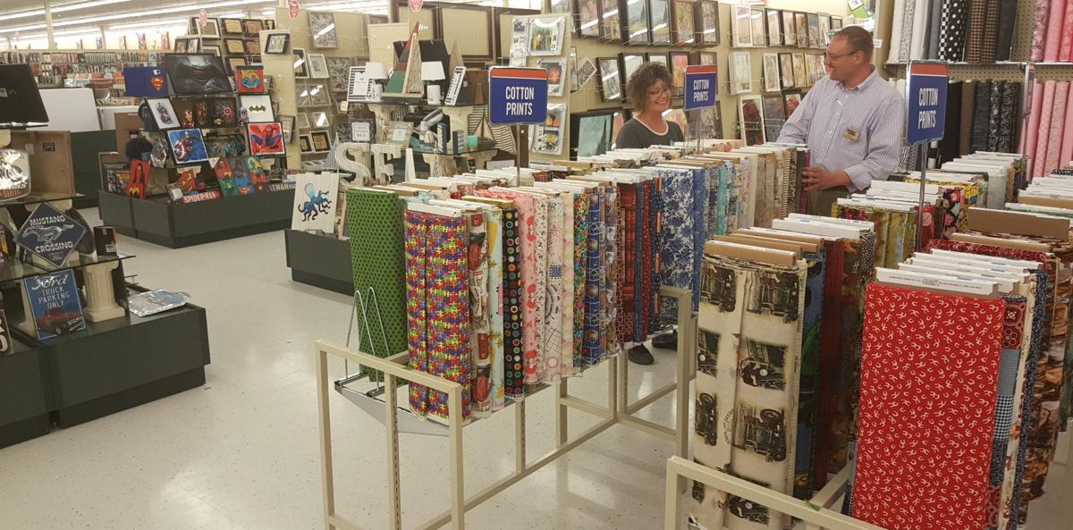 fabric department hobby lobby ottumwa