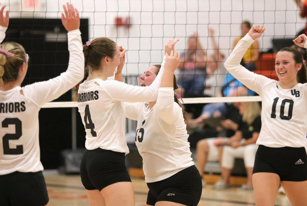 Prep volleyball: No. 4 Warriors end long slide against Crusaders