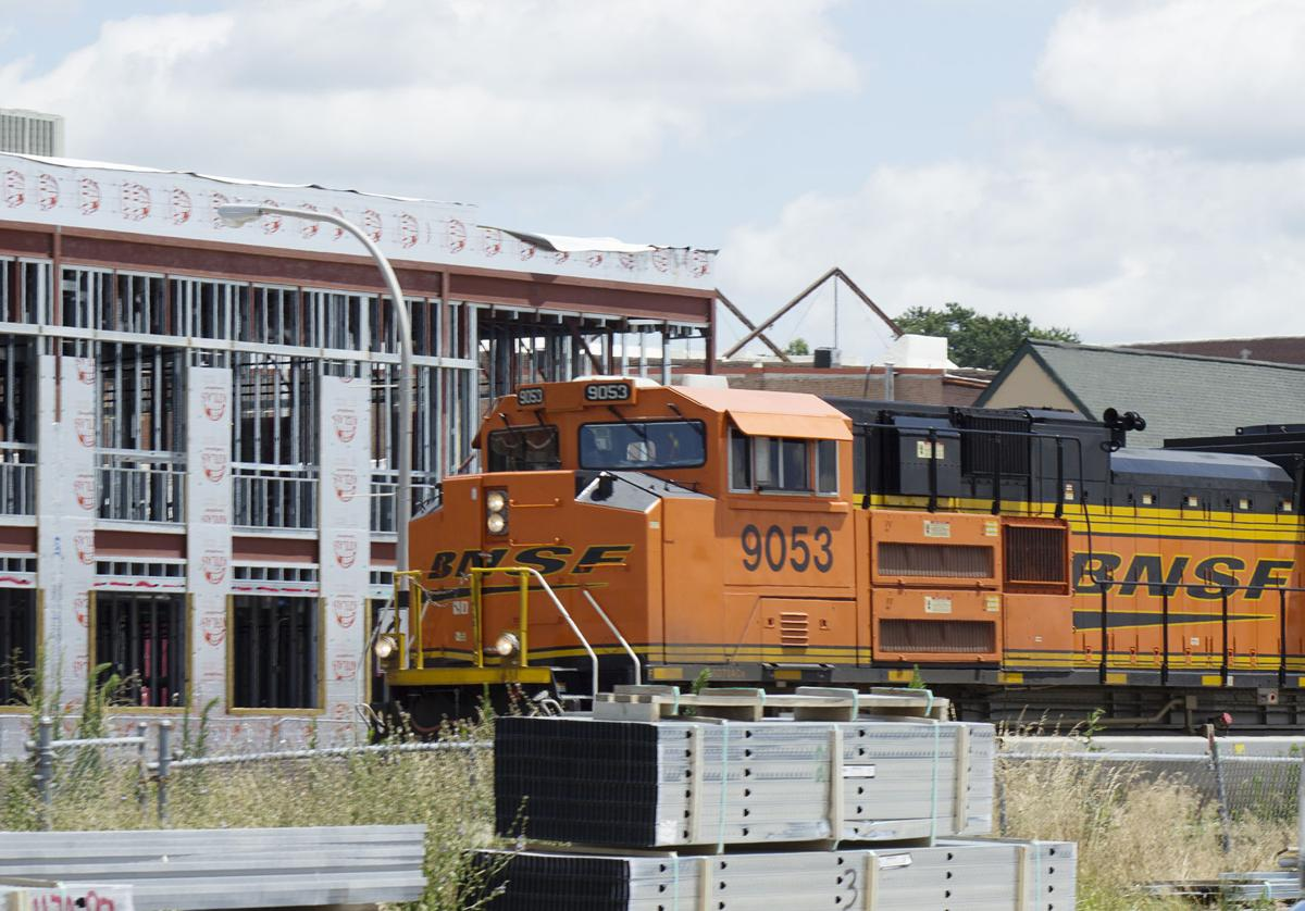 BNSF in Ottumwa