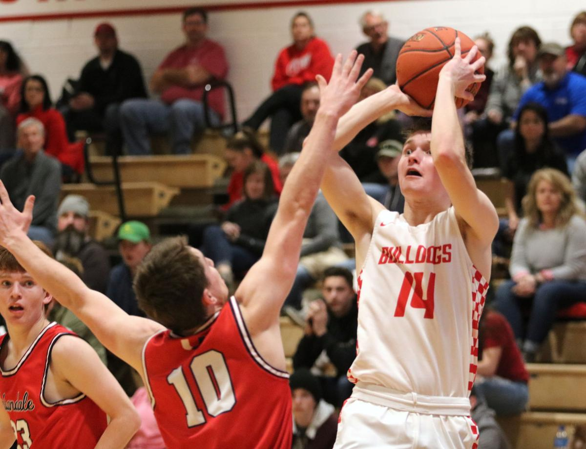 Boys basketball: J-Hawks' inside game overpowers Bulldogs