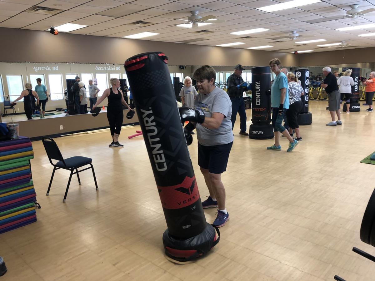Rock Steady Boxing Program