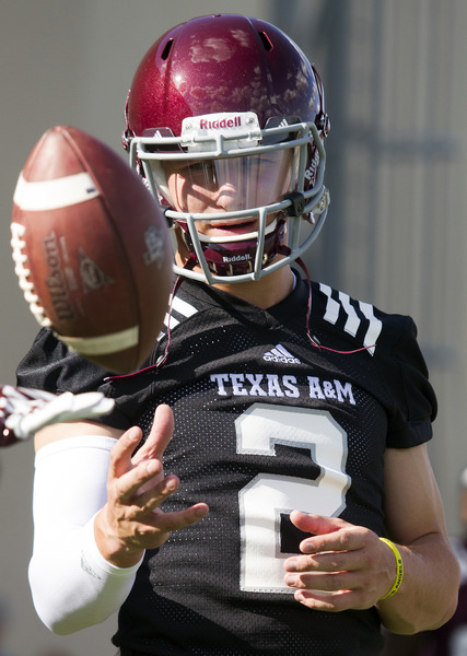 Texas A M Manziel Football
