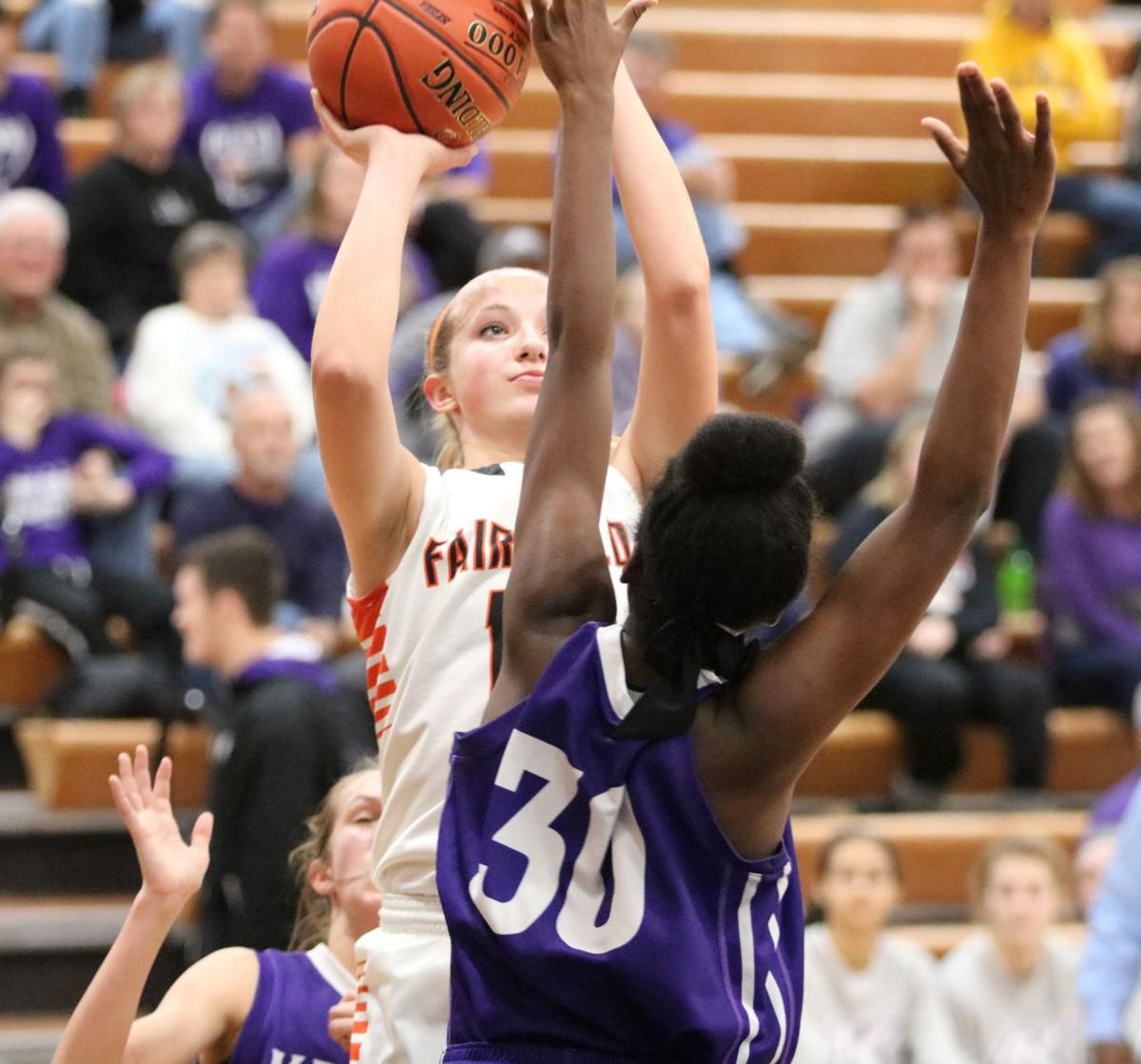 Girls basketball: Keokuk downs Fairfield to take conference lead into break