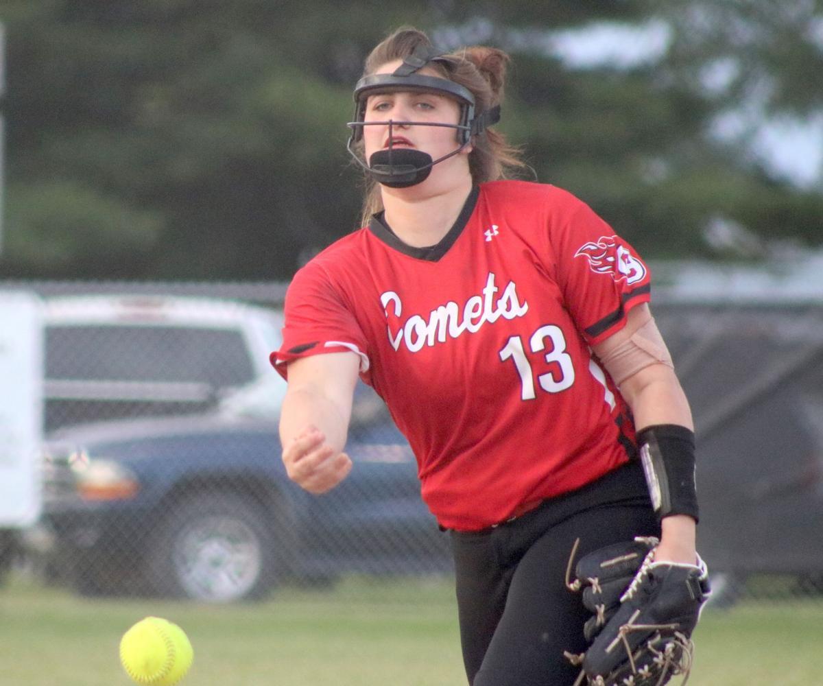 Prep softball: All smiles for Comets