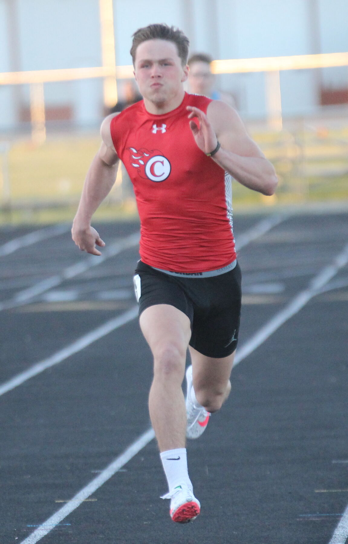 Greiner goes 4-4 at Ruritan Relays