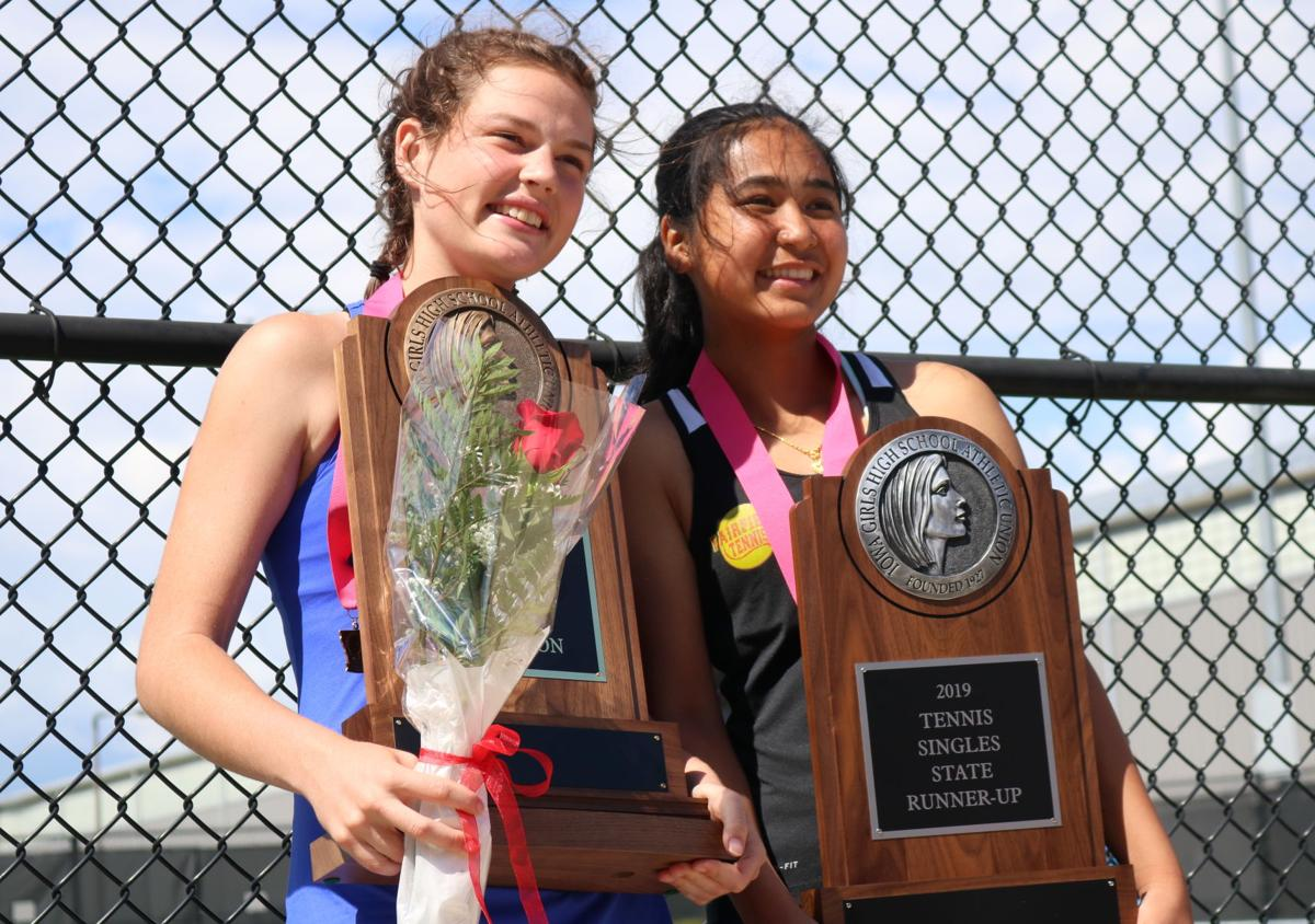 State tennis: Gaskell sets the pace to claim 1A crown