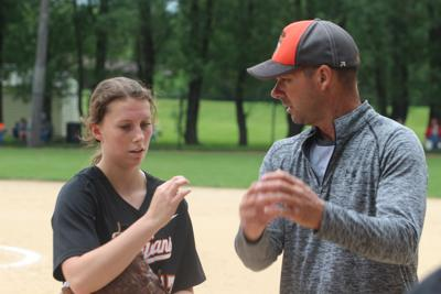 Rebling strikes out 12, secures Fairfield's 12th win