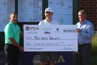 Matthew Walker wins Iowa Open