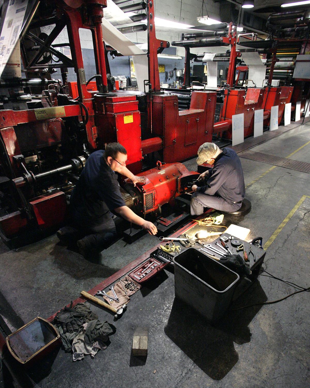 Press motor rebuilds print operations local news for Electric motor repair chicago