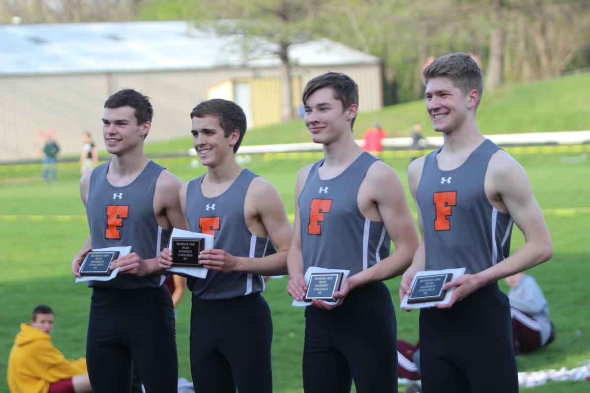 Fairfield boys win Dan Burnett 4x800 relay