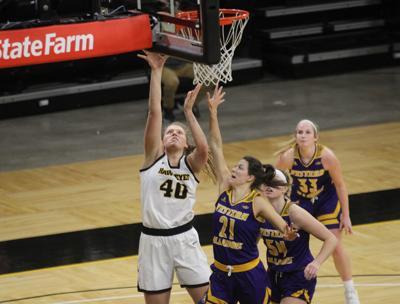 Goodman's career day helps lead Hawkeyes past Western Illinois