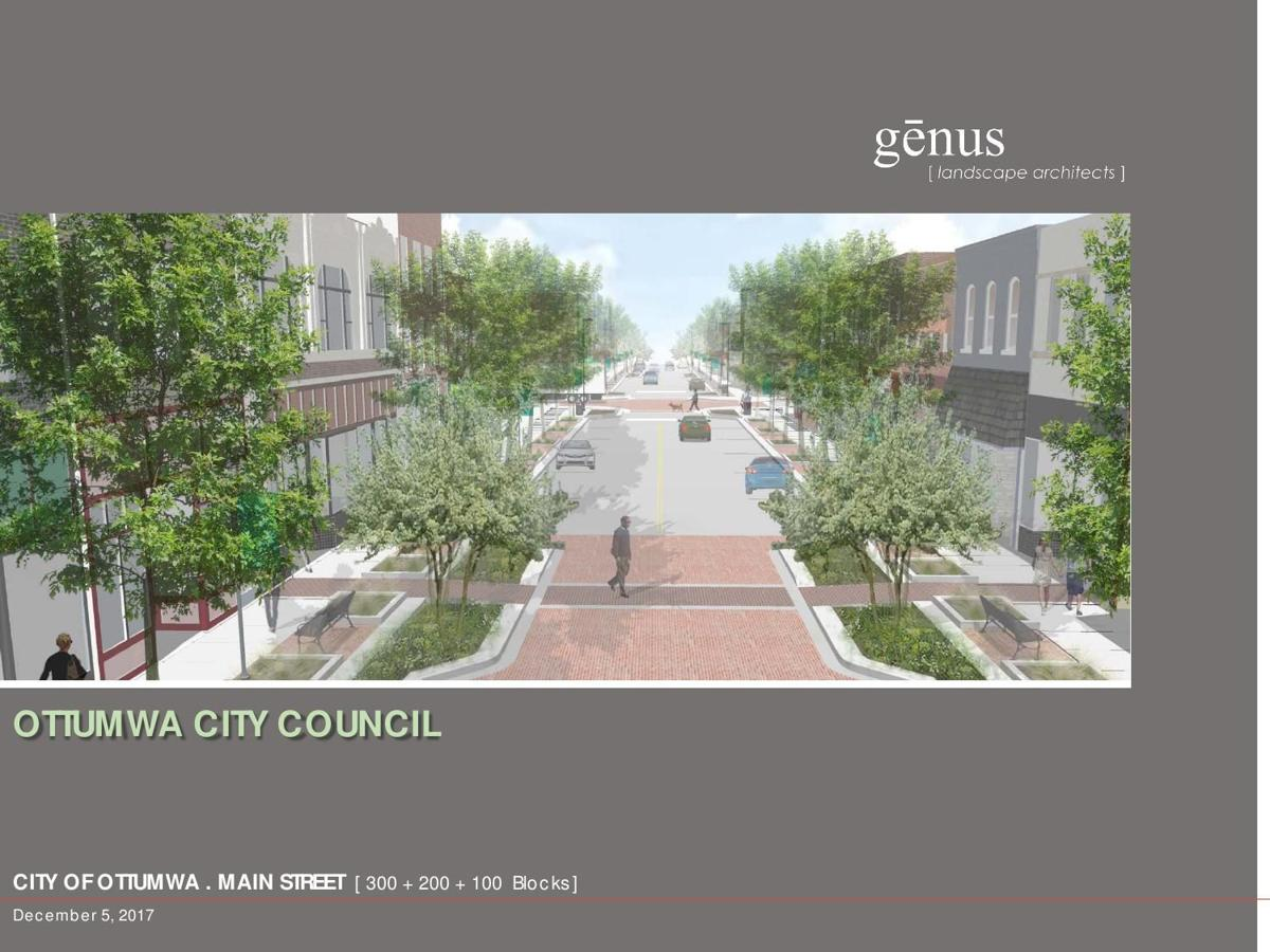 Streetscape proposal
