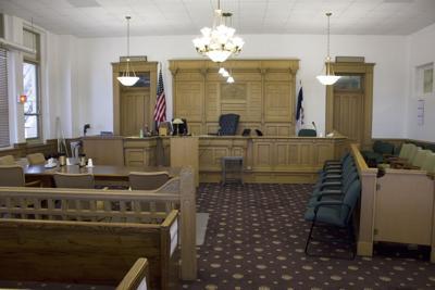 Wapello County Courtroom