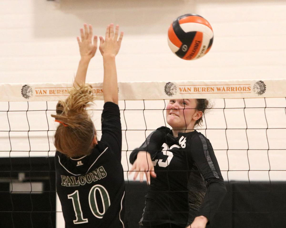 Prep volleyball: No. 4 Warriors stay perfect