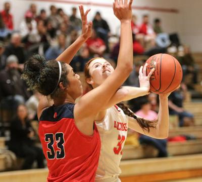 Girls basketball: Bulldogs no match for No. 9 J-Hawks
