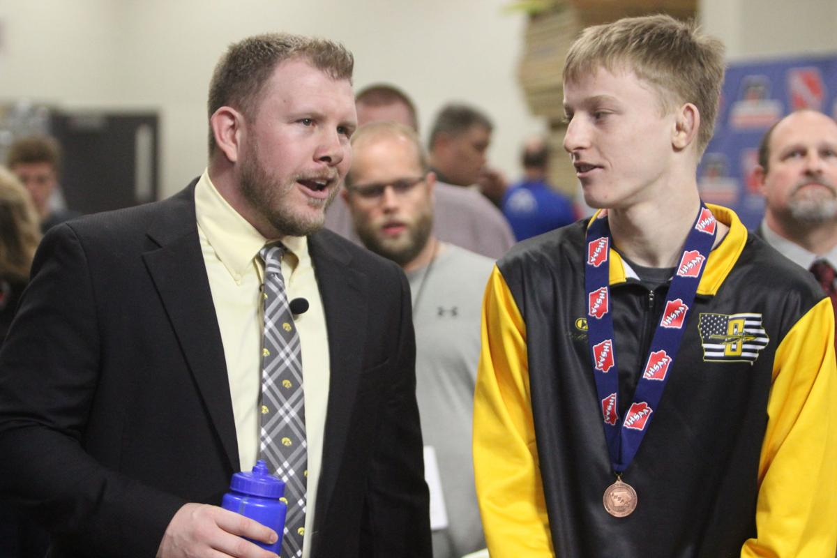 Dye earns third state medal (Second optional 2-4 column photo)