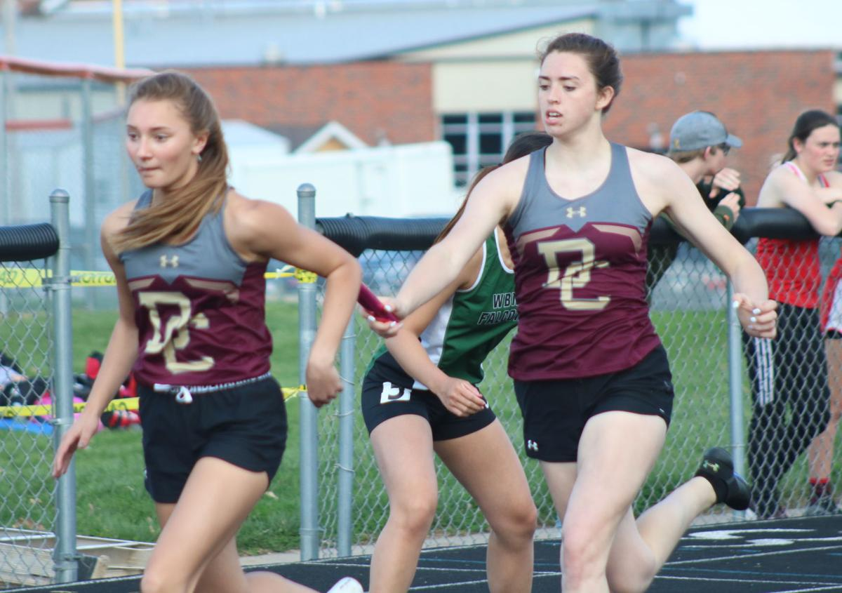 Girls track: The best against the best