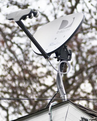 Local residents with stallite TV such as DirecTV are unable to receive local channels. The FCC is currently taking comments from viewers about satellite rules changes. - Courier Photo by: Doug Sundin