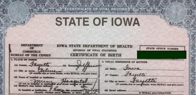 Recorder's office will swap old-style birth certificates for