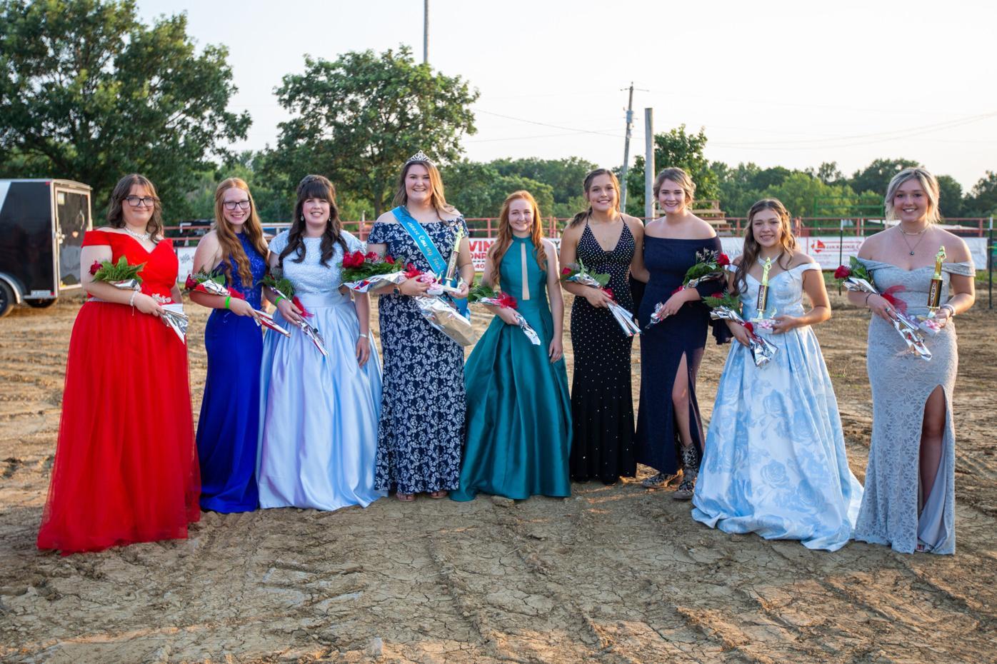 7-19 Appanoose County Fair Queens