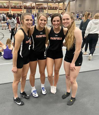 Fairfield girls open indoor season