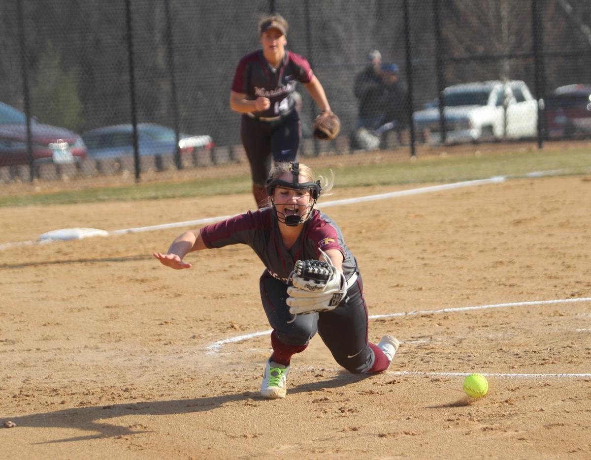 Groet's softball journey continues (Main 4-5 column photo)