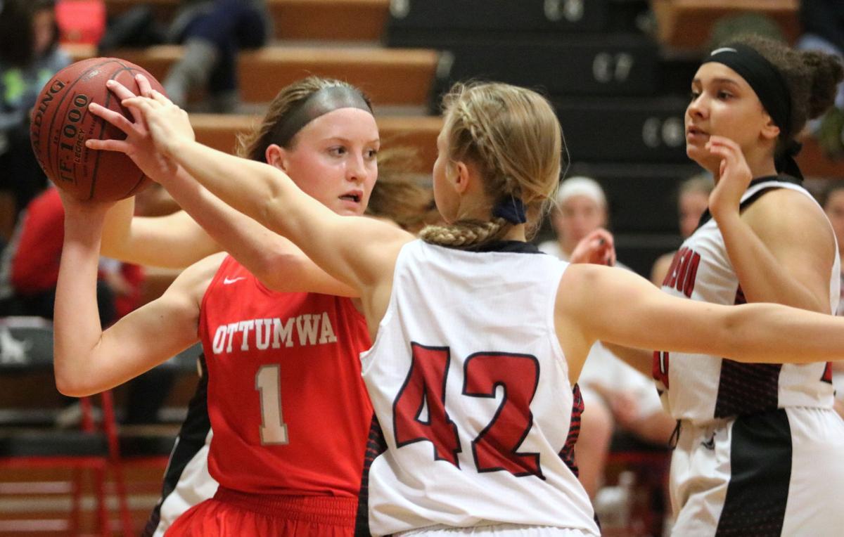 Prep girls basketball: No. 14 Ottumwa opens with emphatic win