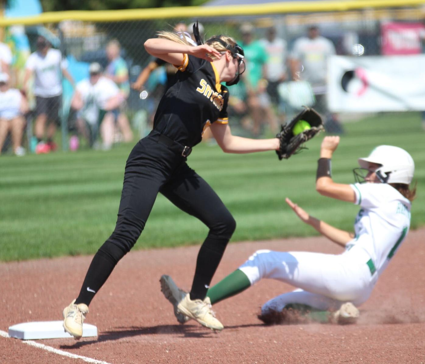 Nervous start costs Sigourney softball at state