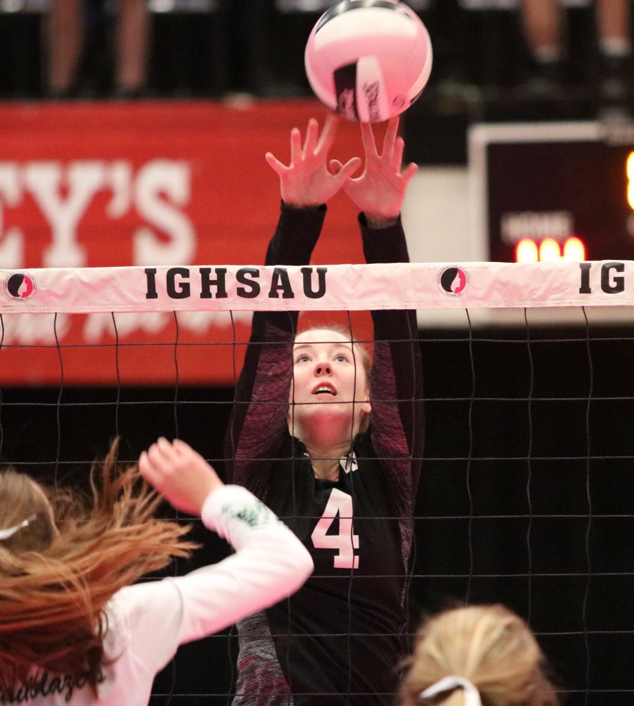 State volleyball: Beckman ends Warriors' dream season