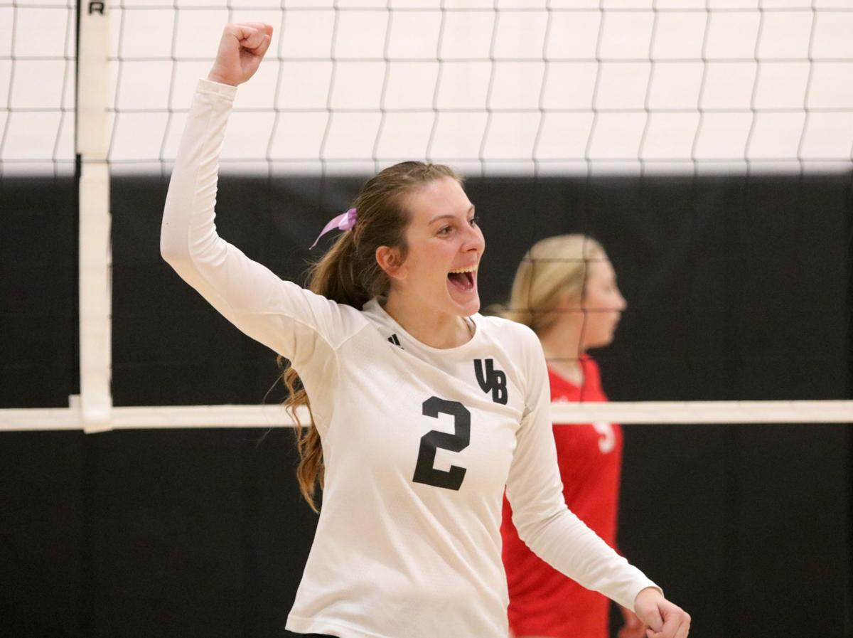 Prep volleyball: Sayre leads strong contingent on All-Courier team