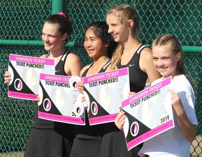 Girls tennis: Fairfield foursome headed to state