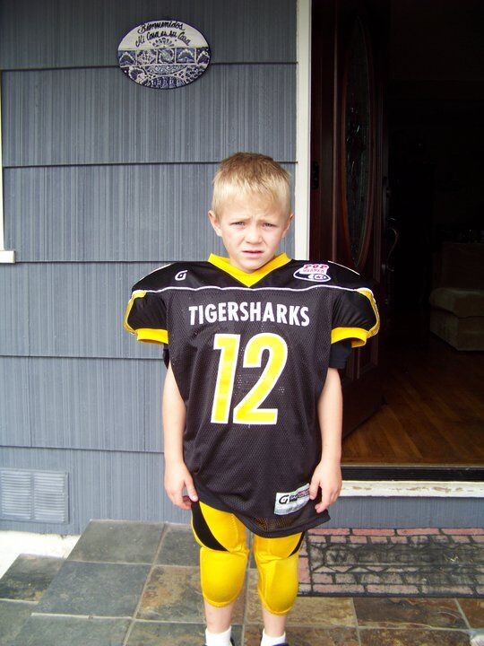A young TigerShark