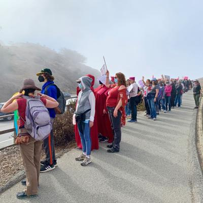 The Oct. 2 demonstration in Pacifica