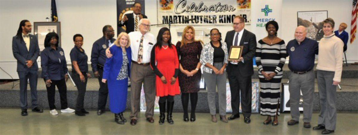NAACP presents awards at MLK luncheon