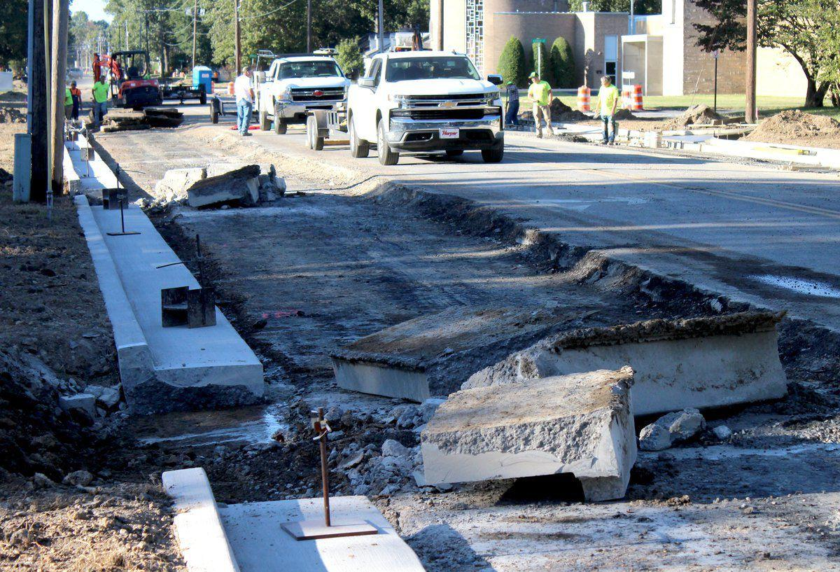 Construction on Joe Clifton expanded by two weeks