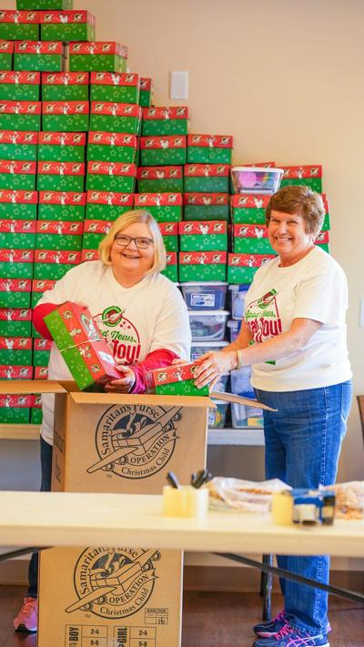 Shoebox collection week is underway