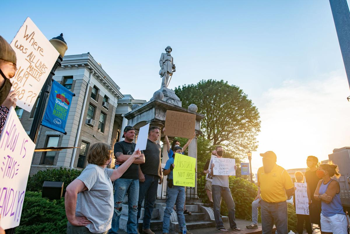 Murray Statue Protest July 15, 2020