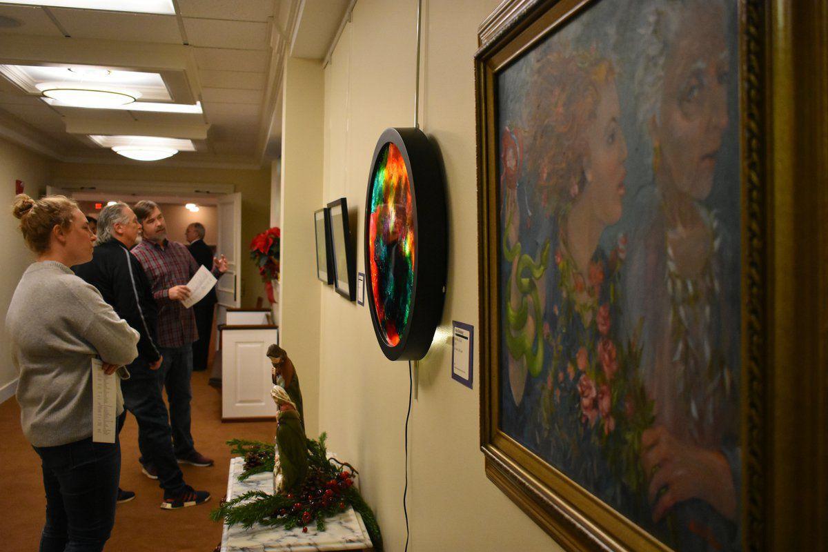 Art exhibit at Paducah church draws a big crowd