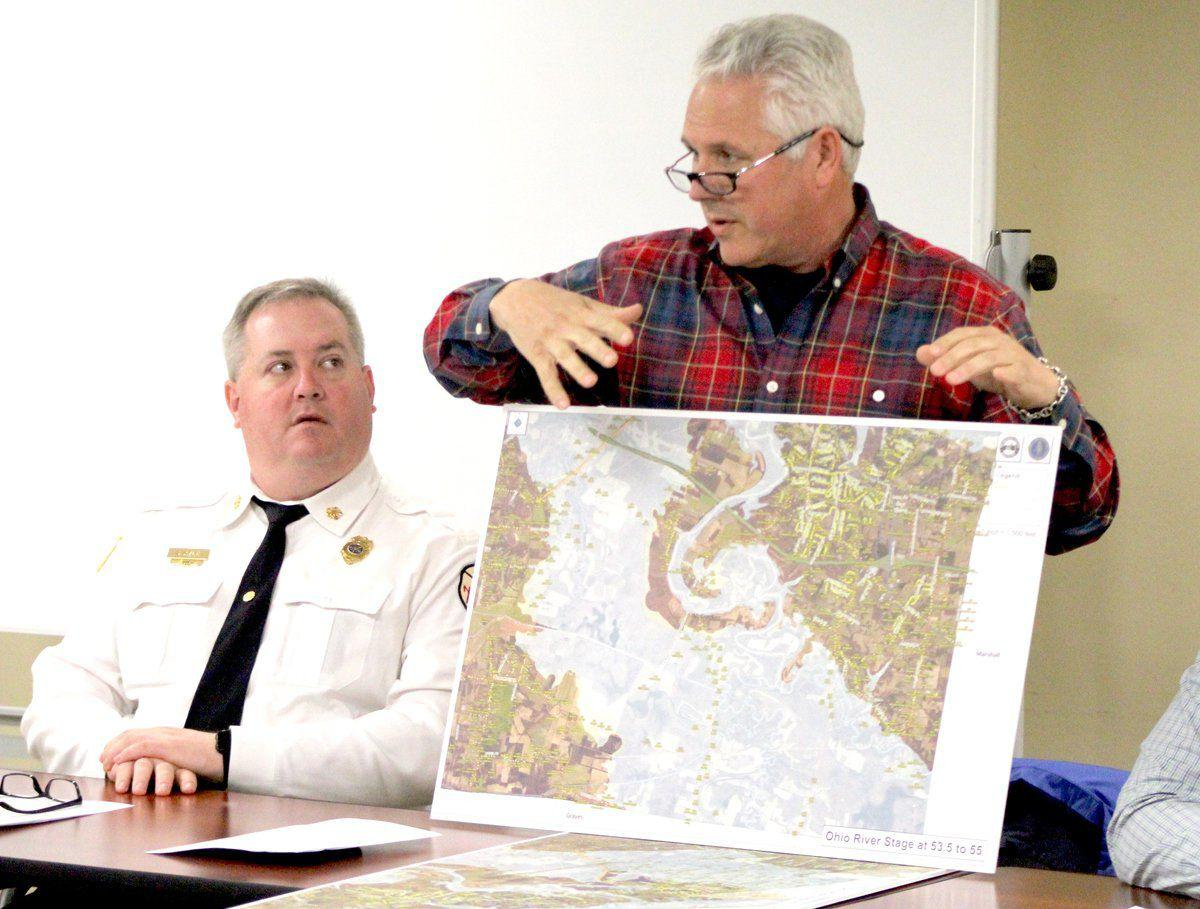 Local officials discuss flooding impact, damage assessments