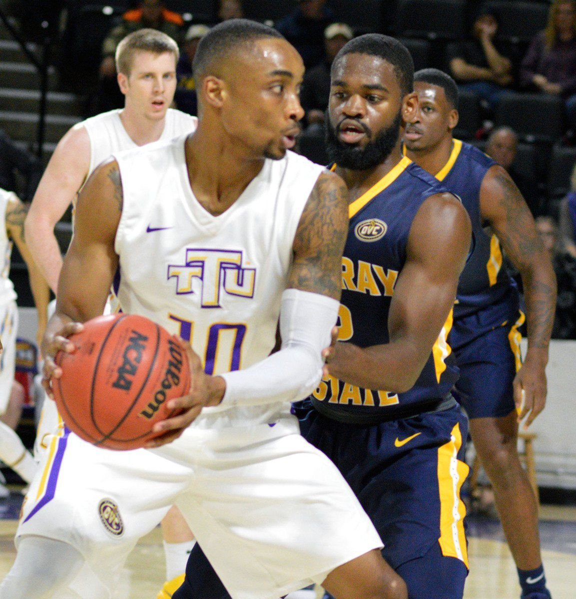 Racers rebound emphatically, topple Tech