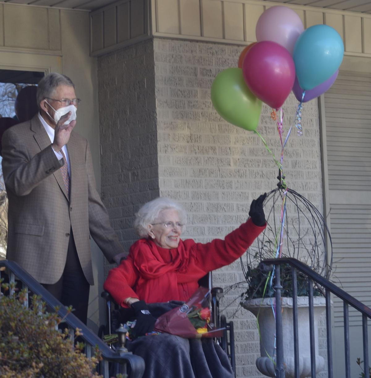 Paducah woman celebrates 104th birthday. Read what she had to say about it