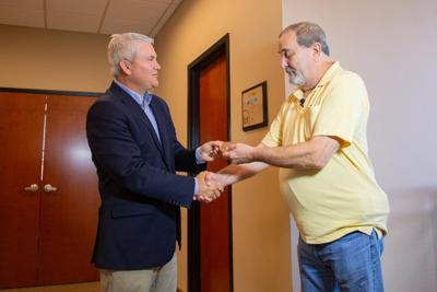 Paducah man receives medal for relative's classified service